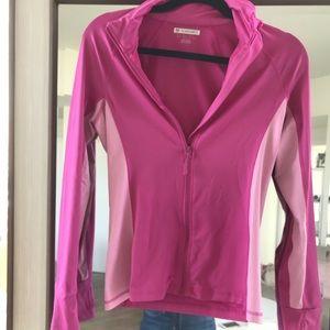 Running zip up jacket